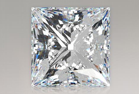 1.00 Carat Princess Diamond