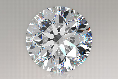 Loose Diamond  2.00 Carat Round Diamond